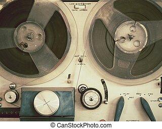 viejo, tape-recorder