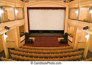 viejo, teatro