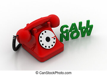 viejo teléfono formado