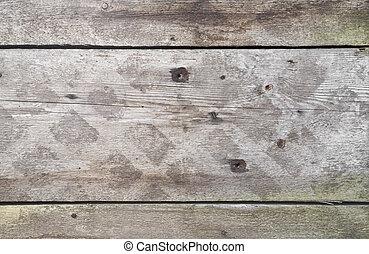 viejo, textura de madera, con, tablas