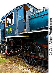viejo, tren