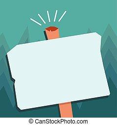 viejo, uno, forma, diseño, vale, blanco, disposición, resistido, plantilla, cartel, vacío, plano, empresa / negocio, poste indicador, ilustración, geométrico, halftone, tarjeta, saludo, vector, estante, invitación, promoción