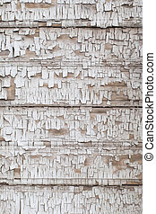viejo, vendimia, pintura, madera, plano de fondo, cracky, blanco