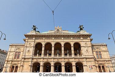 viena, ópera, estado, 1869), viena, (staatsoper, austria
