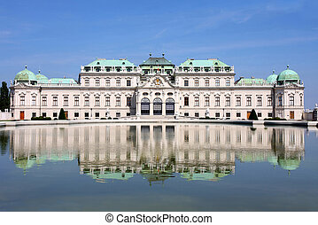 viena, castillo, austria, barroco, belvedere