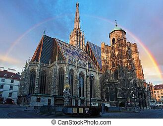 viena, catedral, austria, stephan