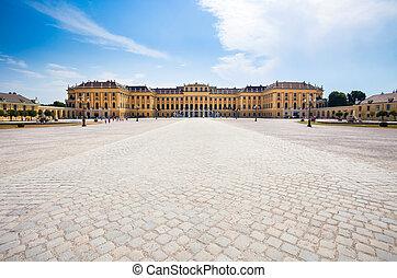 Schonbrunn Palace royal residence
