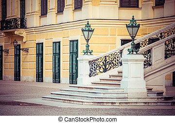 VIENNA, AUSTRIA - JUNE 17: Schonbrunn Palace on March, 20,...