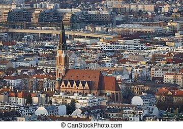 Vienna Dusk View