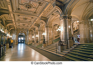 Vienna Opera interior, January 2009