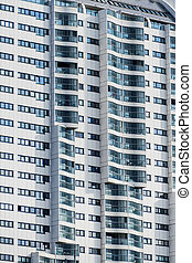 vienna, residential tower - a skyscraper in vienna for...