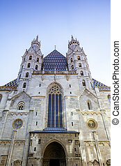 Vienna St. Stephens Cathedral - An image of St. Stephens...