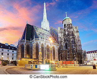 Vienna - St. Stephen's Cathedral, Austria
