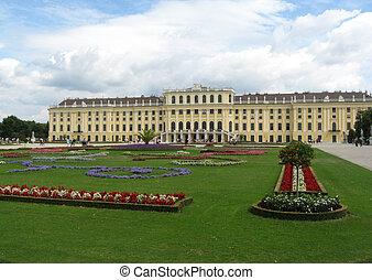 Vienna - Schonbrunn Palace in Vienna,Austria.