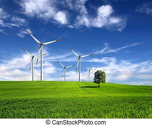 viento, de, cambio
