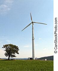 viento, energía alternativa, potencia