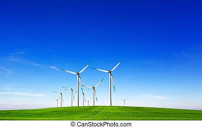 viento, potencia