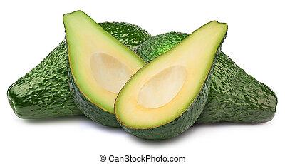 vier, avocado's, vrijstaand