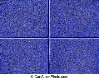 vier, blauwe , pleinen