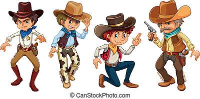 vier, cowboys