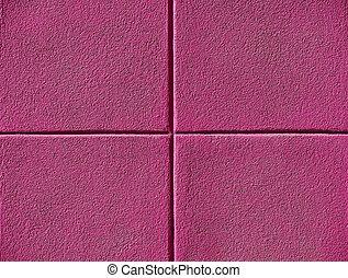 vier, roze, pleinen