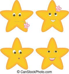 vier, sternen