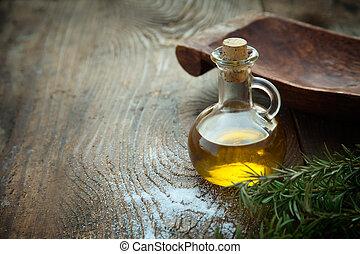 vierge, supplémentaire, huile d'olive