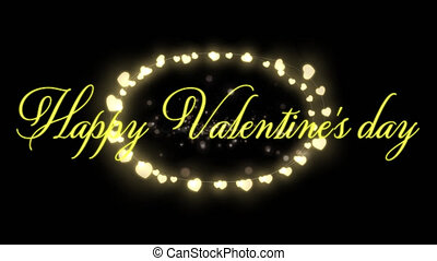 viering, dag, valentines