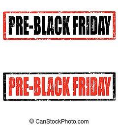 viernes, pre-black