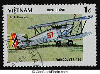 VIETNAM - CIRCA 1986: A stamp printed