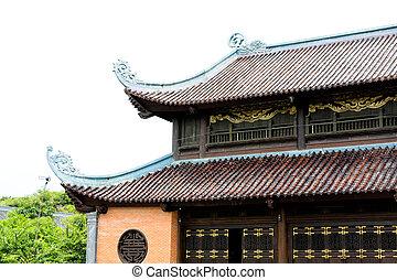 vietnam, gyönyörű, építészet