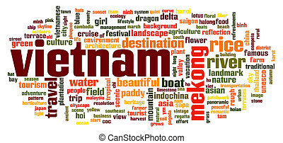 Vietnam word cloud