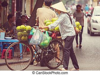 vietnamees, verkoper