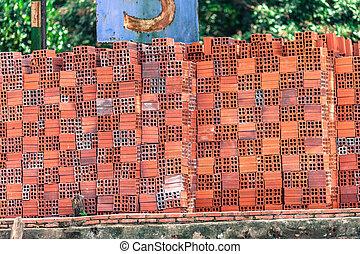 Vietnamese bricks, Mekong Delta