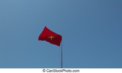 Vietnamese National Flag High Definition Videoclip -...