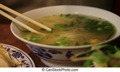 Vietnamese Pho ga - Traditional Vietnam Pho Ga (chicken...