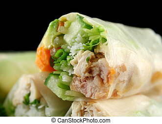 Vietnamese Rice Paper Rolls 5 - Delicious and healthy...