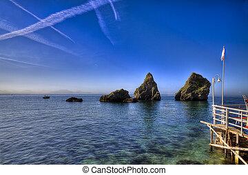 Vietri sul Mare (SA), amalfi coast, Italy : marina 2 -...