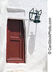 vieux, île, paraportiani, église, panagia, grèce, mykonos