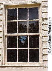 vieux, a mûri, fenêtre
