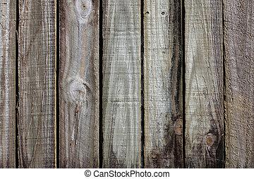 vieux, barrière, bois construction