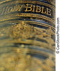 vieux, bible, ancien