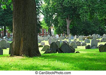 vieux, cimetière