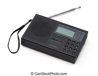 vieux, court, onde radio