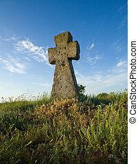 vieux, croix