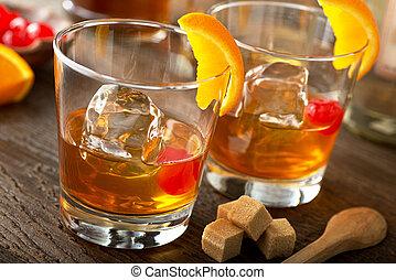 vieux façonné, cocktail