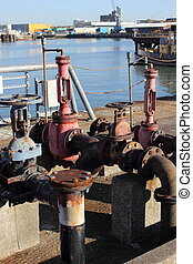 vieux, fueling, dockside, point