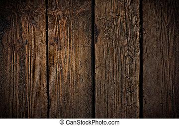 vieux, gratté, bois, texture., mai, usage, pour, grunge,...
