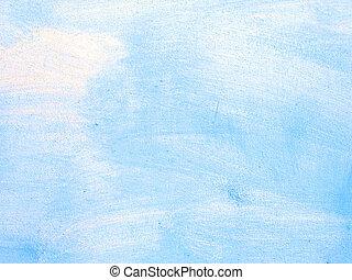 vieux, gratté, mur bleu, texture
