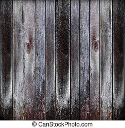 vieux, grunge, bois, panneaux